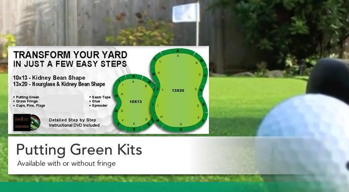 Artificial Turf U003e Putting Green Kits U003e 10u0027x13u0027 Country Club/Spring Pro